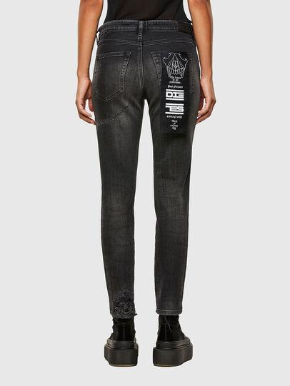 Diesel - Babhila 009JN, Nero/Grigio scuro - Jeans - Image 2