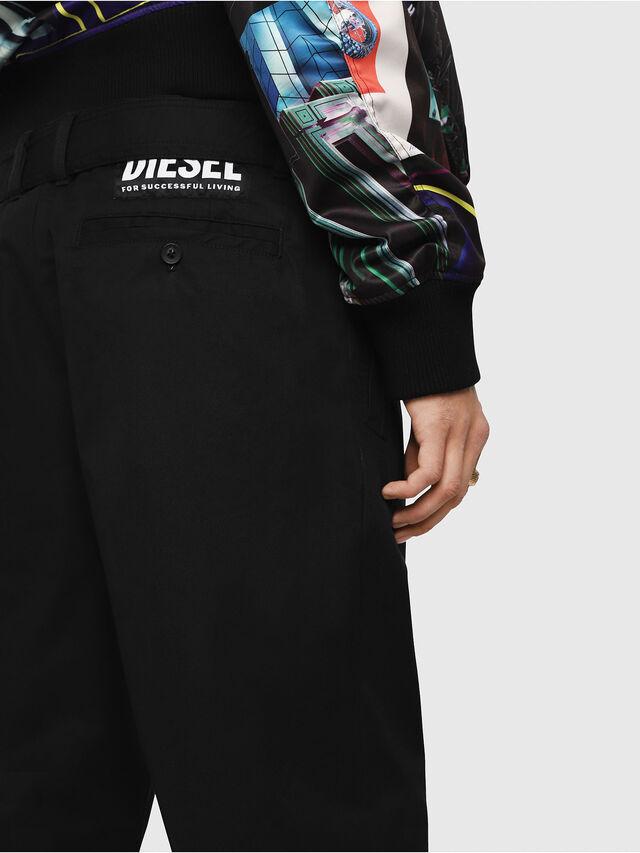 Diesel - P-TOSHI, Nero - Pantaloni - Image 4