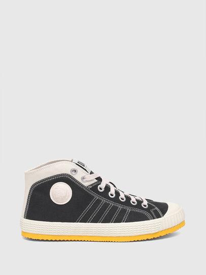 Diesel - S-YUK MC, Nero/Giallo - Sneakers - Image 1