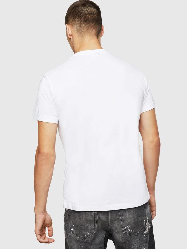 Diesel - T-DIEGO-BX2, Bianco - T-Shirts - Image 2