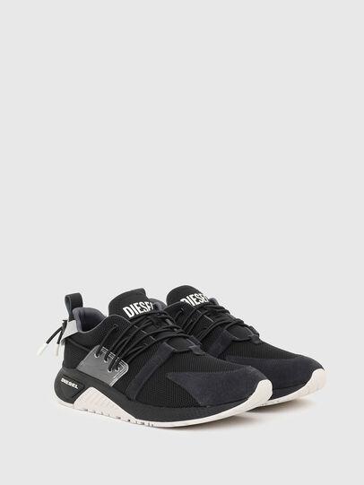 Diesel - S-KB UP LACE, Nero/Blu - Sneakers - Image 2
