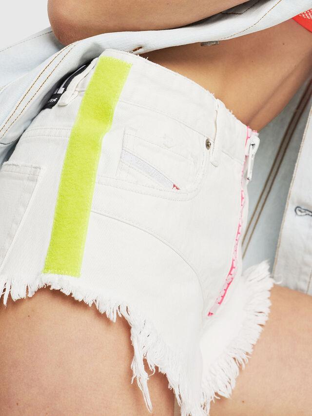 Diesel - DE-CHERYL, Bianco - Shorts - Image 3