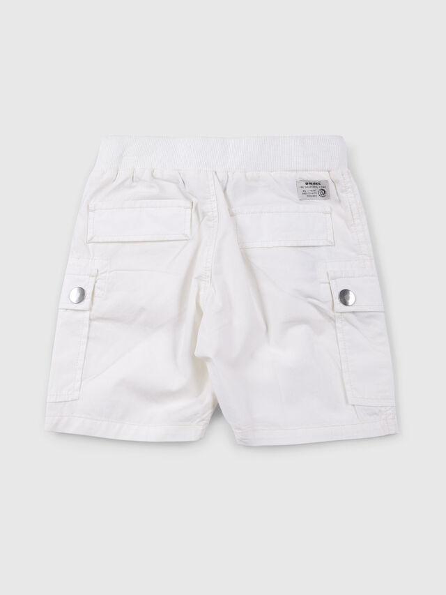 Diesel - PECCIB, Bianco - Shorts - Image 2
