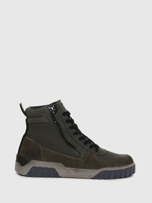 S-RUA MID, Verde Scuro - Sneakers