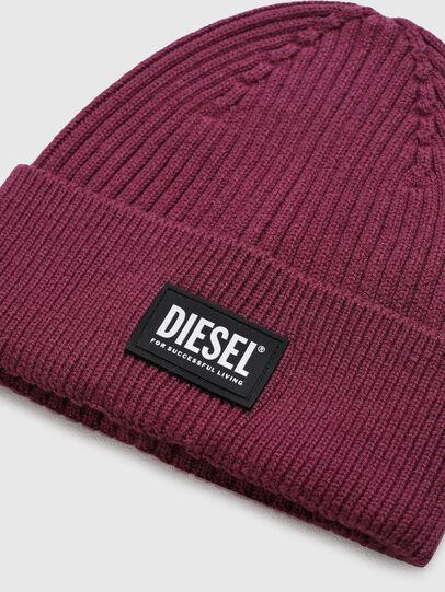 Diesel - K-CODER-E 2X2, Viola - Cappelli invernali - Image 3