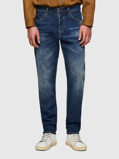 Diesel - D-Fining-Chino 009MI, Blu Scuro - Jeans - Image 1