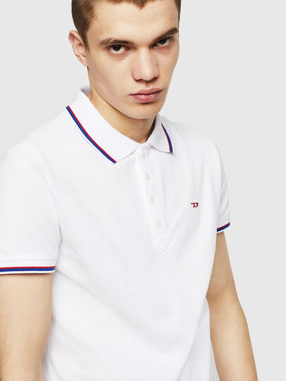 Diesel - T-RANDY-NEW, Bianco - Polo - Image 3