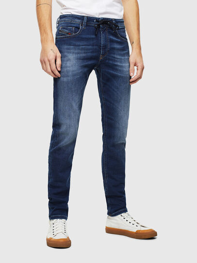 Diesel - Thommer JoggJeans 088AX, Blu Scuro - Jeans - Image 1