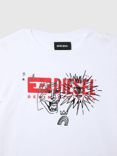 Diesel - TUDARIB-R, Bianco - T-shirts e Tops - Image 3