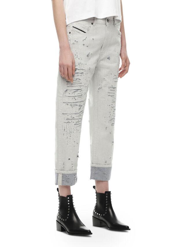 Diesel - TYPE-1815, Bianco - Jeans - Image 3