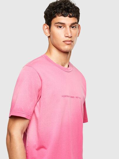 Diesel - T-JUBIND-SLITS-A1, Rosa - T-Shirts - Image 3