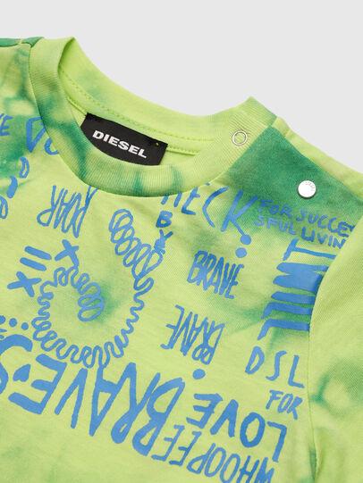 Diesel - TIMMYB, Verde - T-shirts e Tops - Image 3