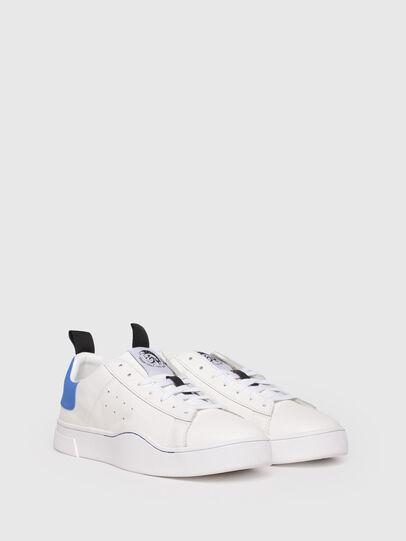 Diesel - S-CLEVER LOW, Bianco/Blu - Sneakers - Image 2
