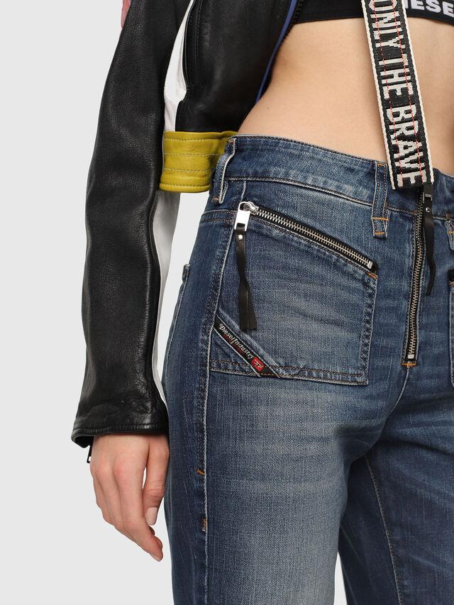 Diesel - D-Earlie 089AR, Blu Scuro - Jeans - Image 3