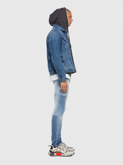 Diesel - Tepphar 009FJ, Blu Chiaro - Jeans - Image 9