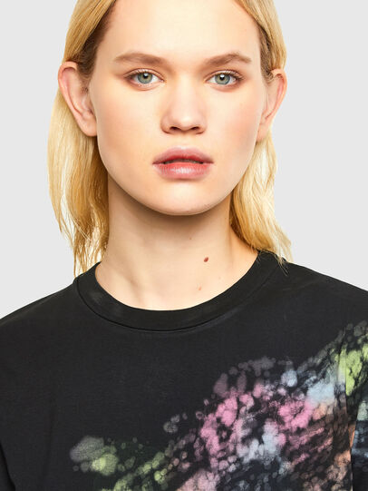 Diesel - T-JUST-A40, Nero - T-Shirts - Image 3