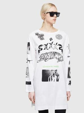 T-ROSY-A, Bianco - T-Shirts