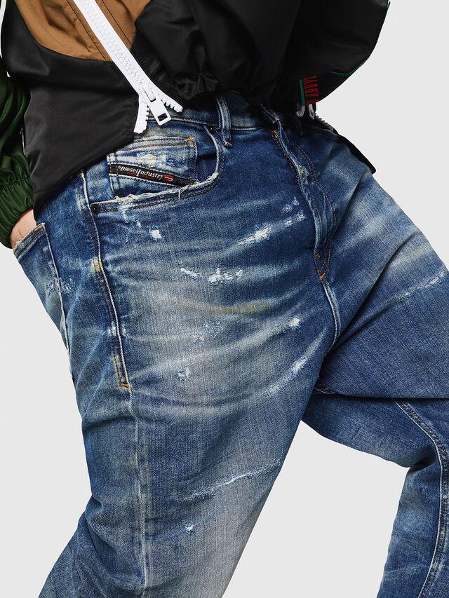Diesel - D-Vider JoggJeans 0870Q, Blu medio - Jeans - Image 3