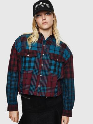 C-OKSANA, Rosso/Blu - Camicie