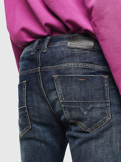 Diesel - Thommer 0096U, Blu Scuro - Jeans - Image 4