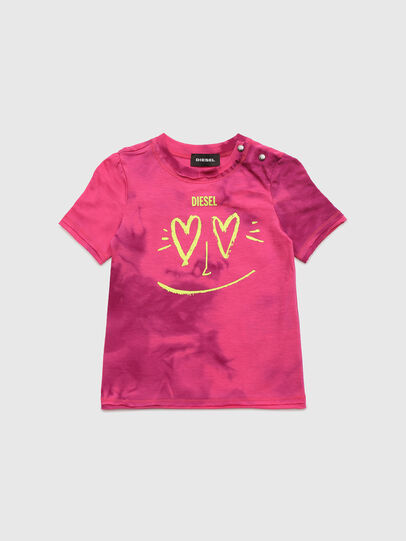 Diesel - TINTDB, Rosa - T-shirts e Tops - Image 1
