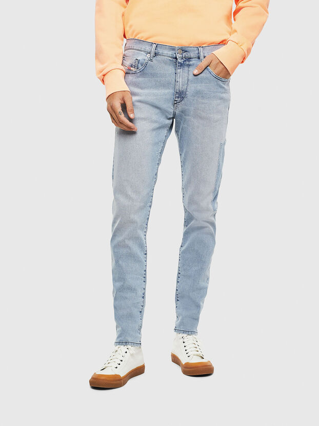 D-Strukt 009BP, Blu Chiaro - Jeans