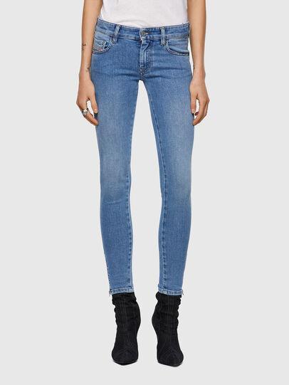 Diesel - Slandy Low 009ZY, Blu Chiaro - Jeans - Image 1