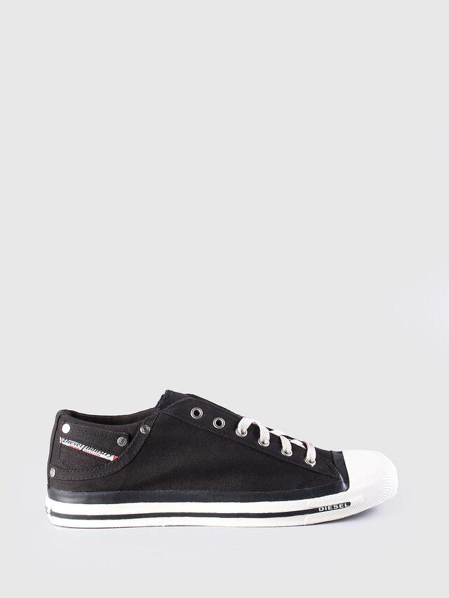 Diesel - EXPOSURE LOW, Nero - Sneakers - Image 1