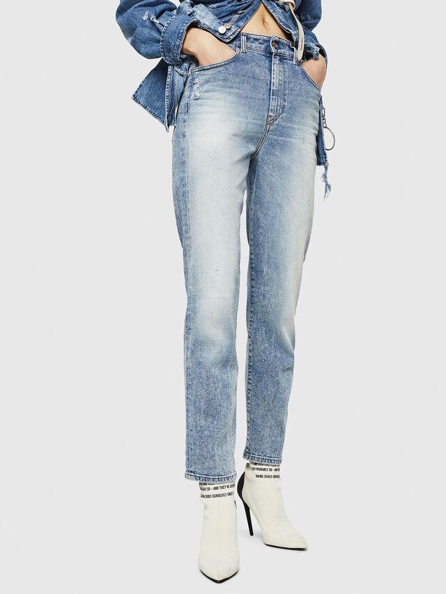 Diesel - D-Eiselle 084AA, Blu Chiaro - Jeans - Image 1