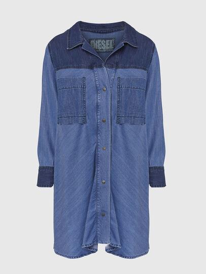 Diesel - DE-NILLA, Blu Chiaro - Camicie in Denim - Image 1