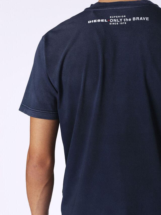 Diesel - T-KEITHS, Blu - T-Shirts - Image 2