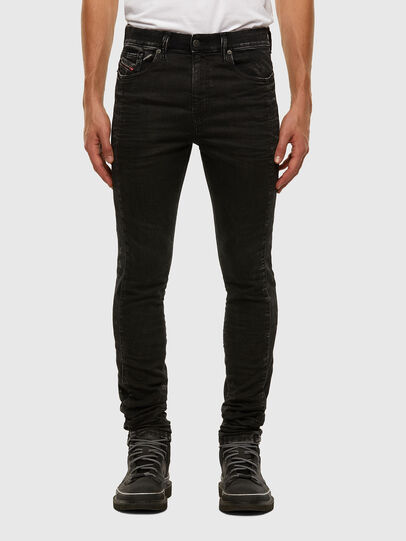 Diesel - D-REEFT JoggJeans® 009FY, Nero/Grigio scuro - Jeans - Image 1