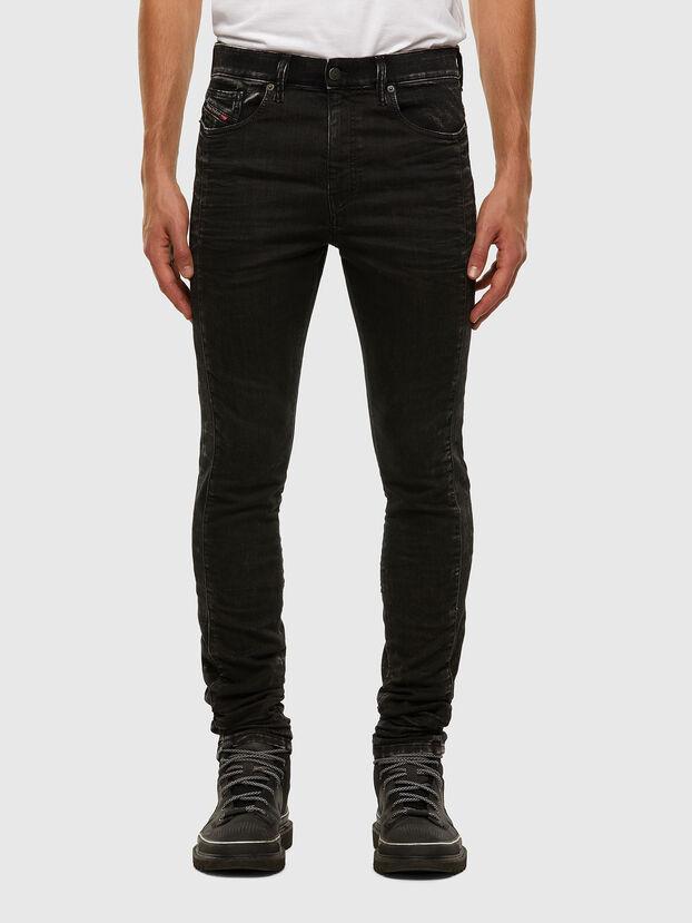 D-Reeft JoggJeans 009FY, Nero/Grigio scuro - Jeans