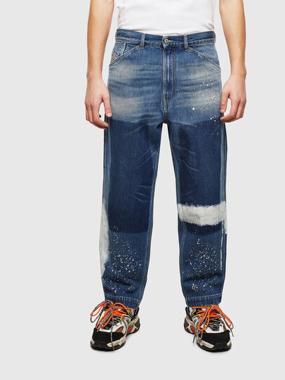 Diesel - D-Franky 009CB, Blu medio - Jeans - Image 1