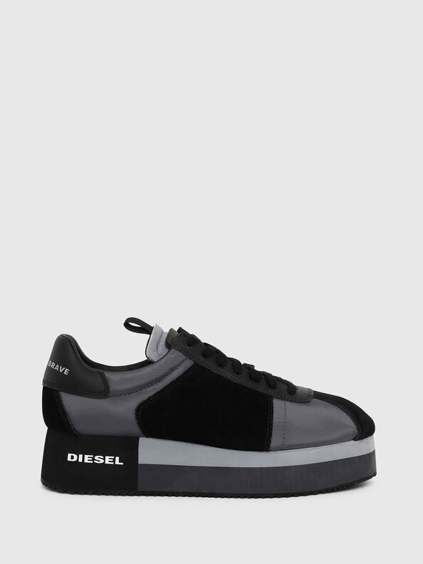 S-PYAVE WEDGE, Blu/Nero - Sneakers