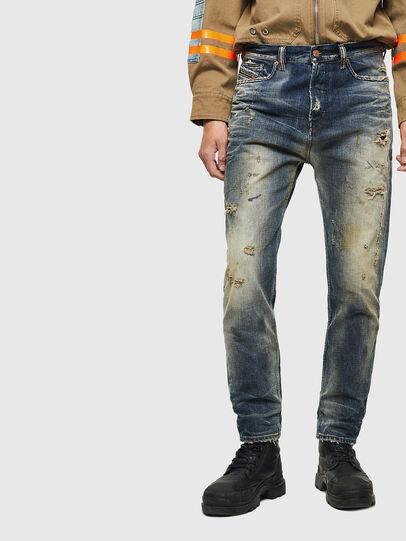 Diesel - D-Vider 0098S, Blu medio - Jeans - Image 1