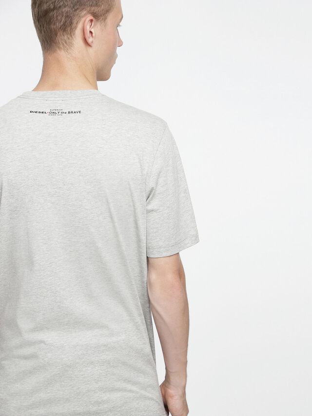 Diesel - T-JUST-XV, Grigio - T-Shirts - Image 2