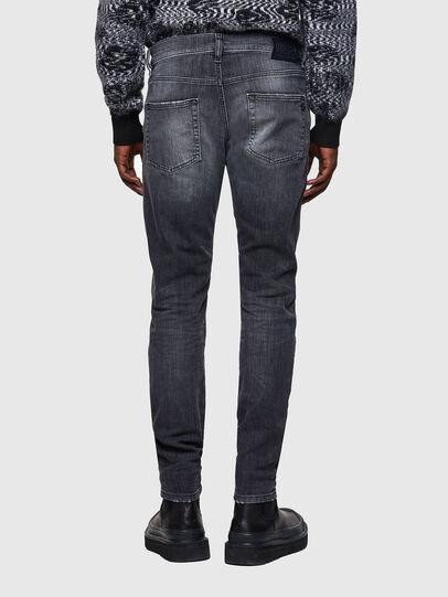 Diesel - D-Strukt JoggJeans® 009QT, Nero/Grigio scuro - Jeans - Image 2