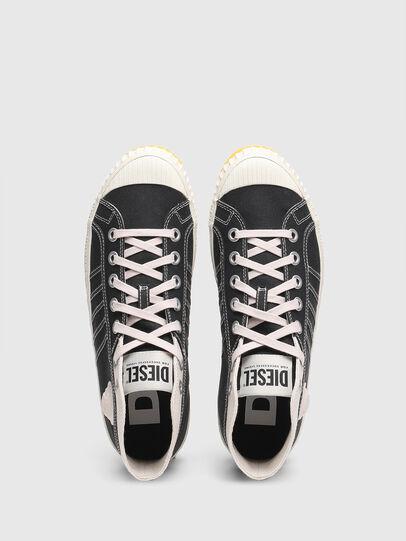Diesel - S-YUK MC, Nero/Giallo - Sneakers - Image 5