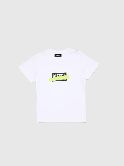 Diesel - TJUSTDIXB-R, Bianco - T-shirts e Tops - Image 1