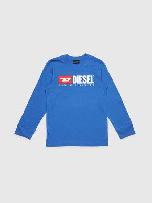 TJUSTDIVISION ML, Blu Ceruleo - T-shirts e Tops