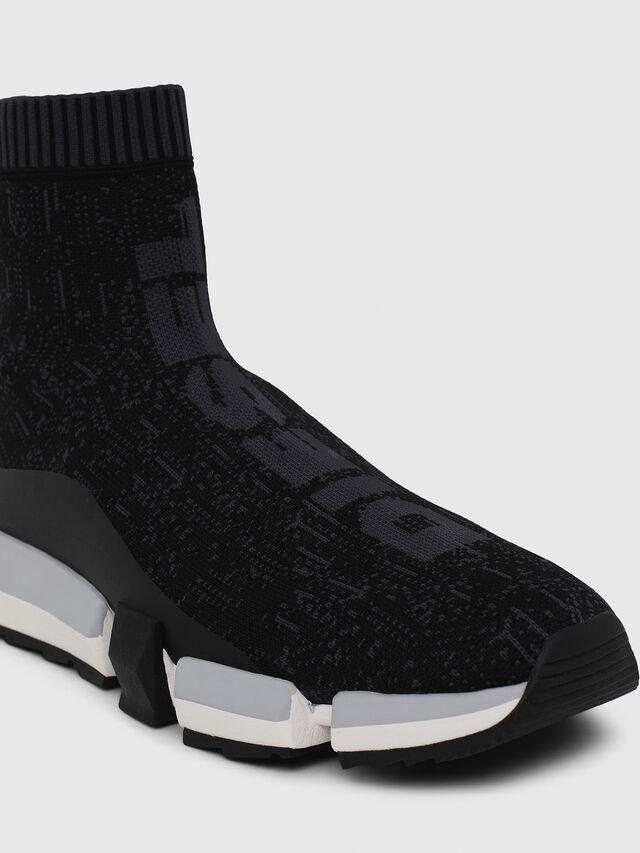 Diesel - H-PADOLA MID SOCK, Nero - Sneakers - Image 4