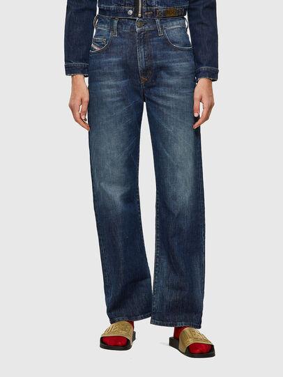 Diesel - D-Reggy 09A06, Blu Scuro - Jeans - Image 1