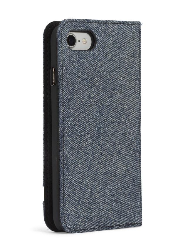 Diesel - DENIM IPHONE 8/7 FOLIO, Blu Jeans - Cover a libro - Image 6