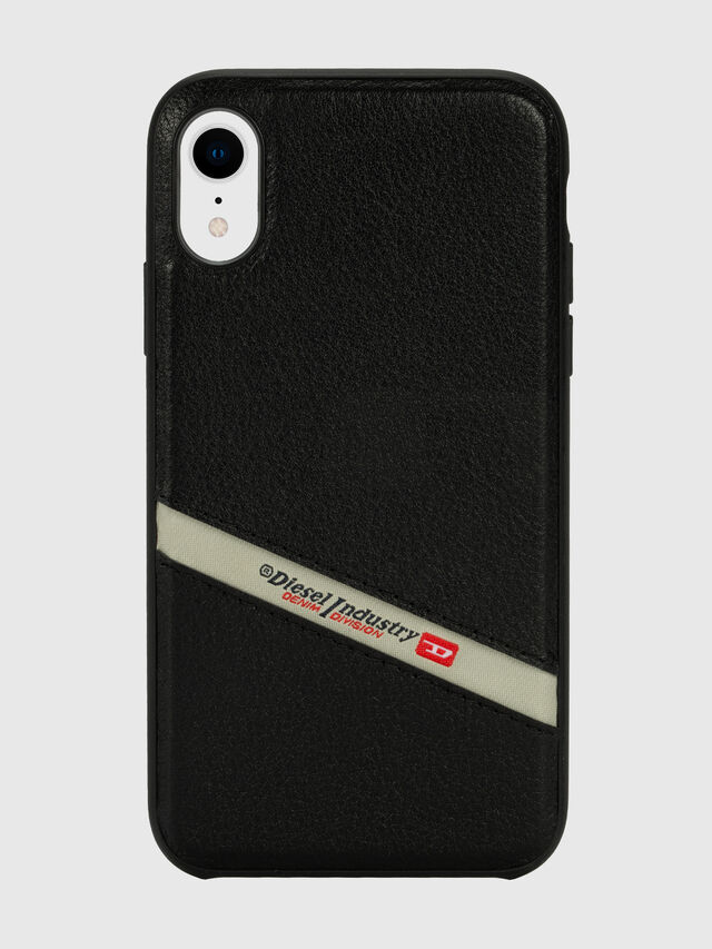 Diesel - DIESEL LEATHER CO-MOLD CASE FOR IPHONE XR, Nero - Cover - Image 2