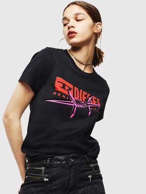 T-SILY-ZC, Nero - T-Shirts