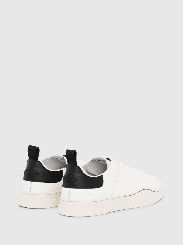 Diesel - S-CLEVER LS, Bianco/Nero - Sneakers - Image 3