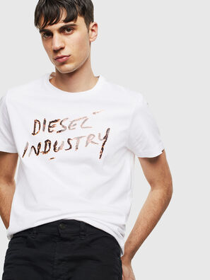T-DIEGO-S15, Bianco - T-Shirts