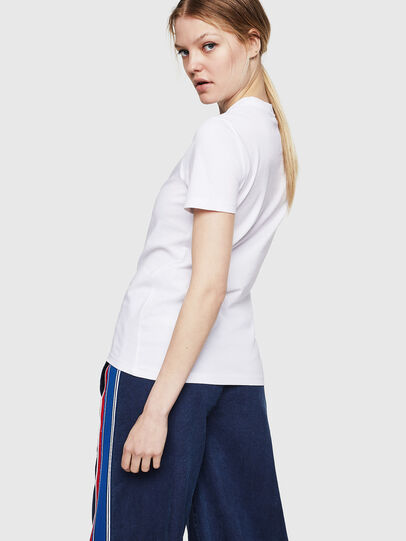Diesel - T-SILY-ZE, Bianco - T-Shirts - Image 2