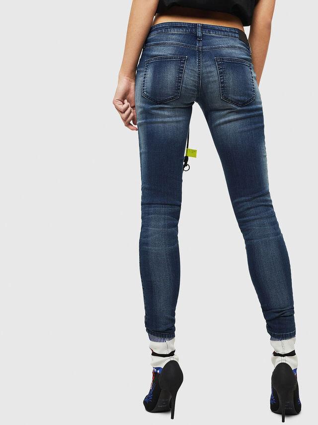 Diesel - Gracey JoggJeans 069HF, Blu Scuro - Jeans - Image 2